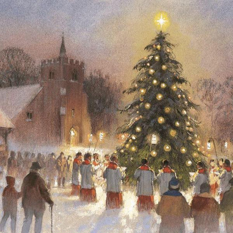 Twilight Carols Christmas Cards Pack of 10 Cards ABF The Soldiers' Charity Shop