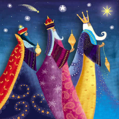 We Three Kings Christmas Card (Pack of 10) - ABF The Soldiers' Charity Shop
