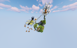 Floating Butterfly Minigame Waiting Lobby