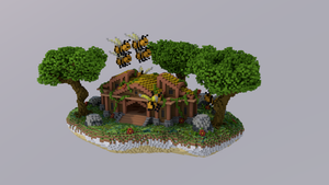 Floating Jungle Bee Spawn [125x175]