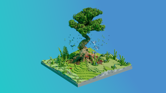 Forest Tree KOTH [100x100]
