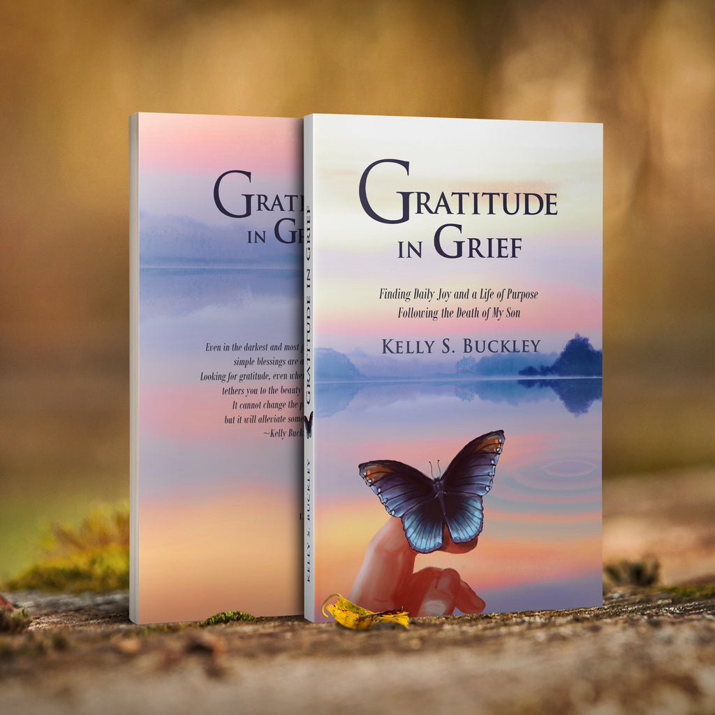 2017-Gratitude In Grief (Softcover Book-Signed by Author)