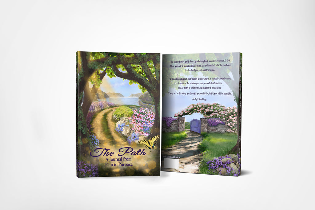 PRE-ORDER- The Path.  A Journal From Pain to Purpose