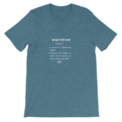 Tee-Fine ME-Warrior Short-Sleeve Unisex T-Shirt
