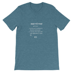 Tee-Fine ME-Survivor Short-Sleeve Unisex T-Shirt