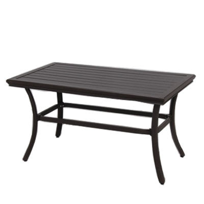 21x42 Rectangle Slat Coffee Table