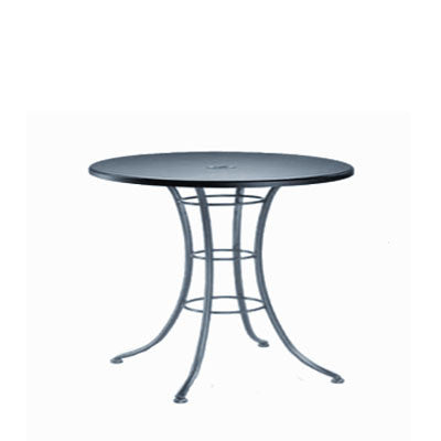 Embossed Round Bar Table