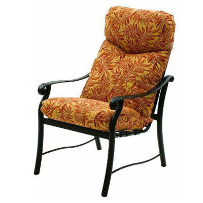 Rendezvous Cushion High Back Dining Chair