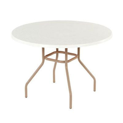 "Fiberglass 42"" Round Dining Table"