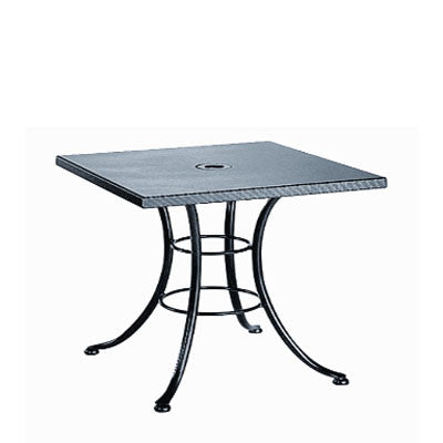 Embossed Square Cafe Table