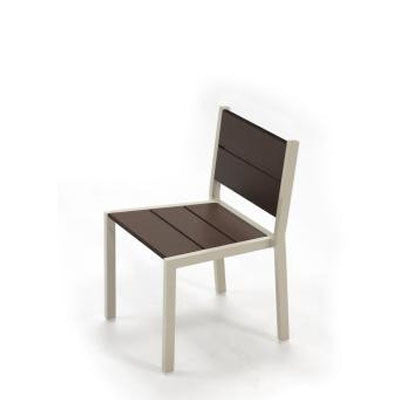 Armless Aluminum Dining Chair