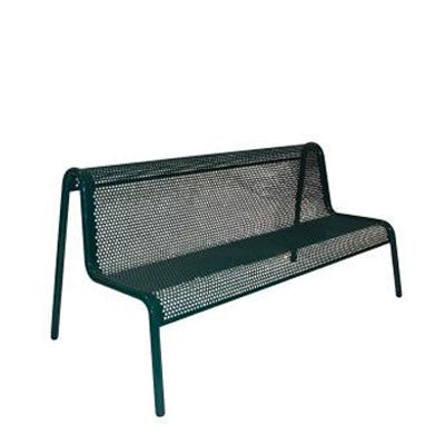 6' Contemporary Steel Bench