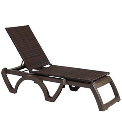 Java Wicker Chaise Lounge