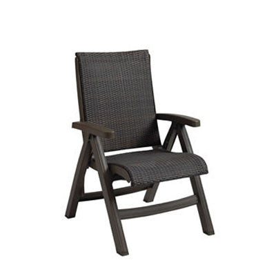 Java Wicker Folding Chair