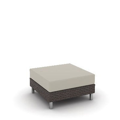 Radiate Linear Square Ottoman