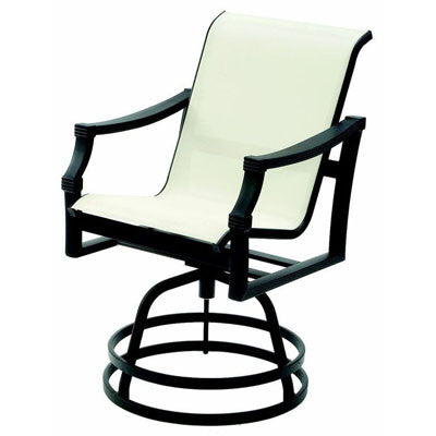 Devereaux Sling Hi-back Swivel Barstool