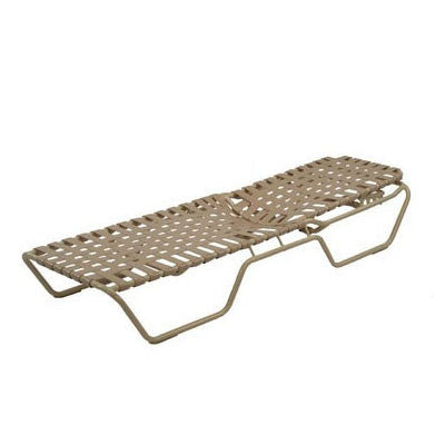 Country Club Cross Weave Chaise with Extended Bed