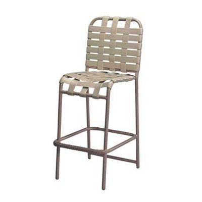 Country Club Bar Chair Cross Weave