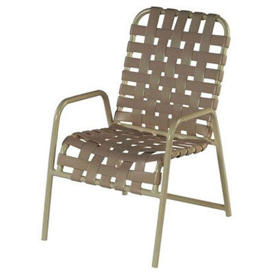 Country Club Dining Chair Cross Weave