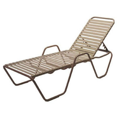 Country Club Chaise Lounge with Arms