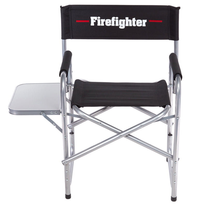 Heavy-Duty Firefighter Folding Chair (400 pounds)