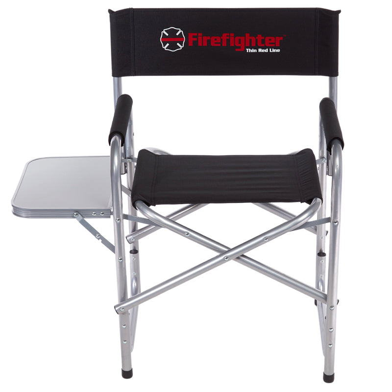 Heavy-Duty Firefighter Maltese Cross Folding Chair (400 pounds)