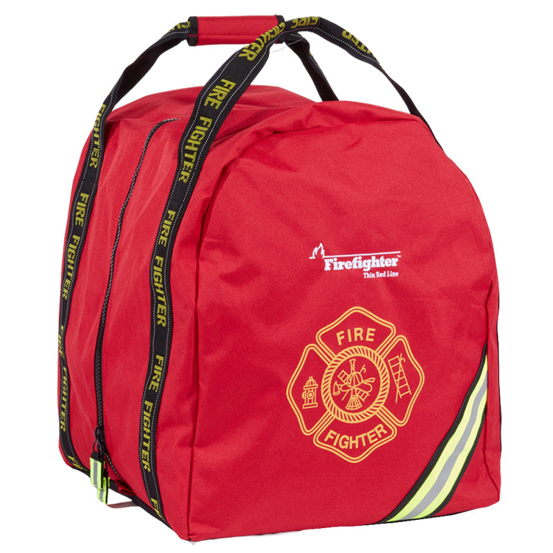 Firefighter Red Line Compact Boot Style Turnout Gear Bag