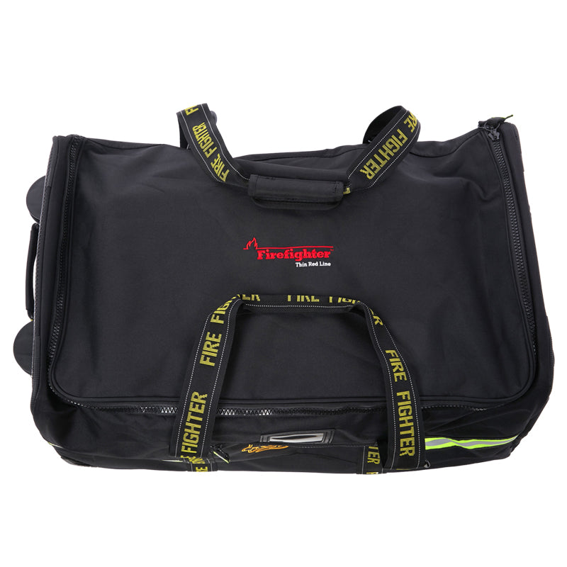 Firefighter Red Line Premium Rolling Turnout Gear Bag