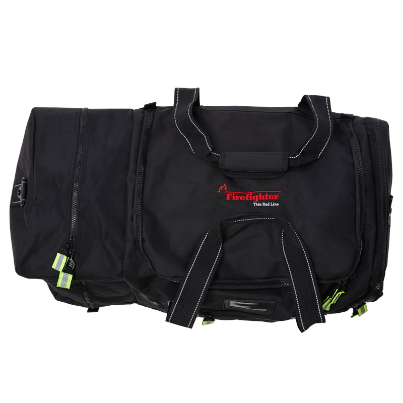 Firefighter Red Line Quad-Vent Turnout Gear Bag