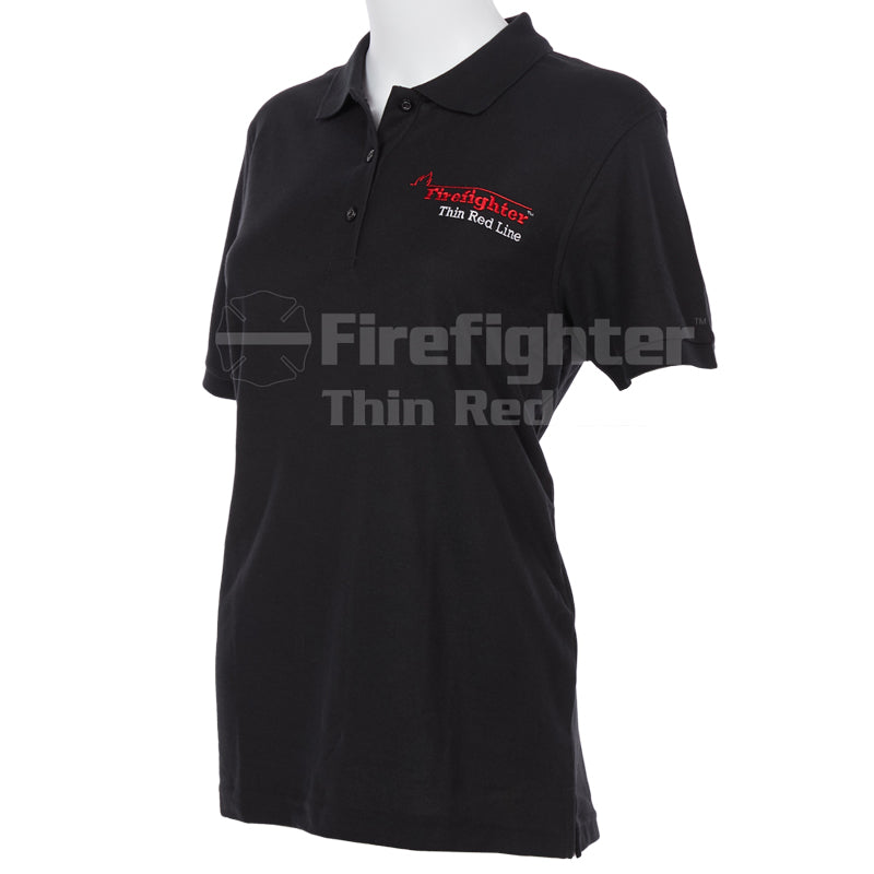 Port Authority Ladies Silk Touch Sport Polo (Flame)