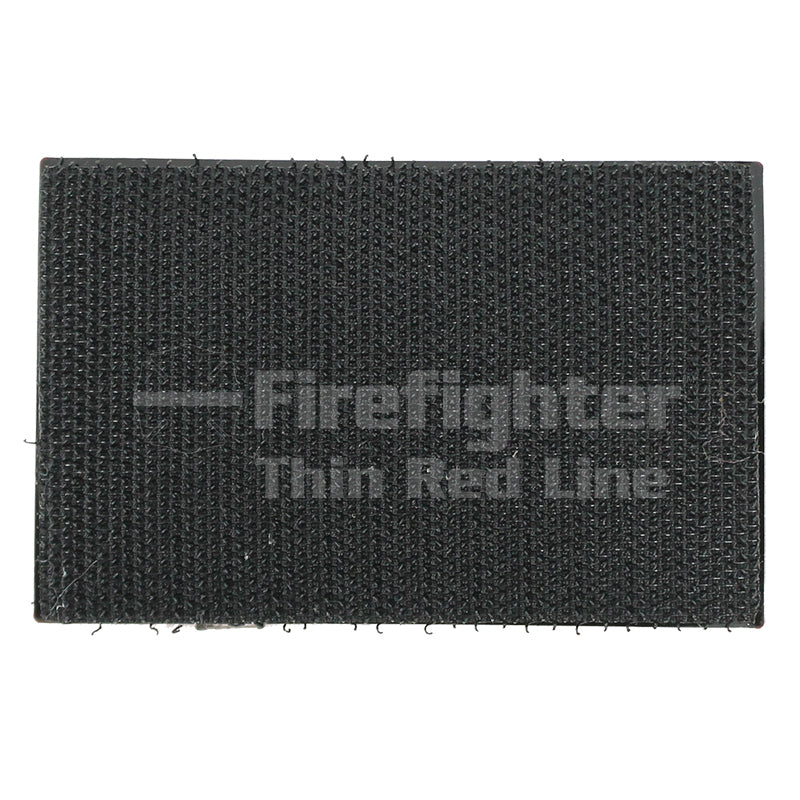 Firefighter Thin Red Line Flame Patch