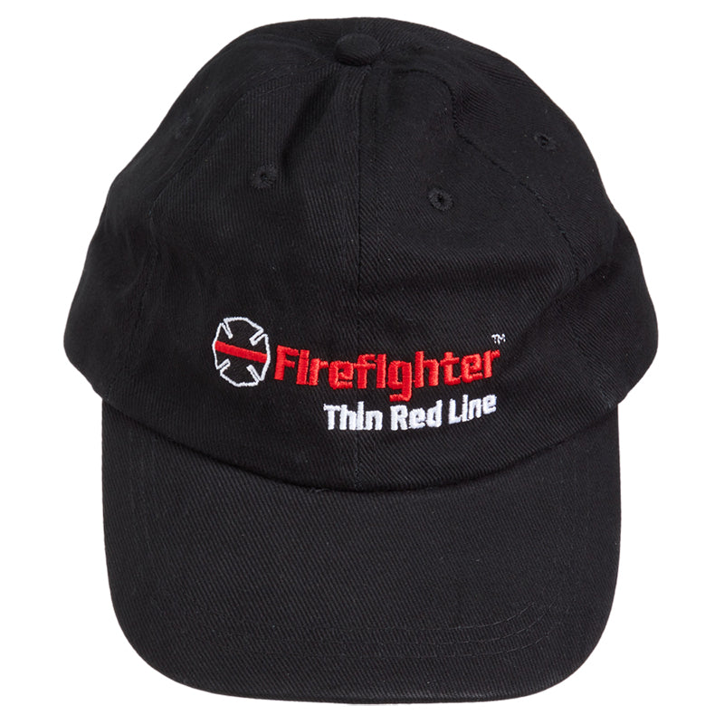 Firefighter Thin Red Line Cotton Hat (Maltese Cross)