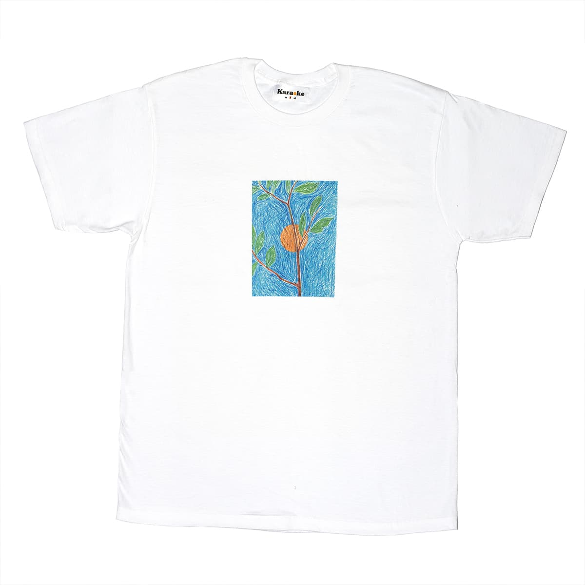 Vegetal T-shirt (snow white)