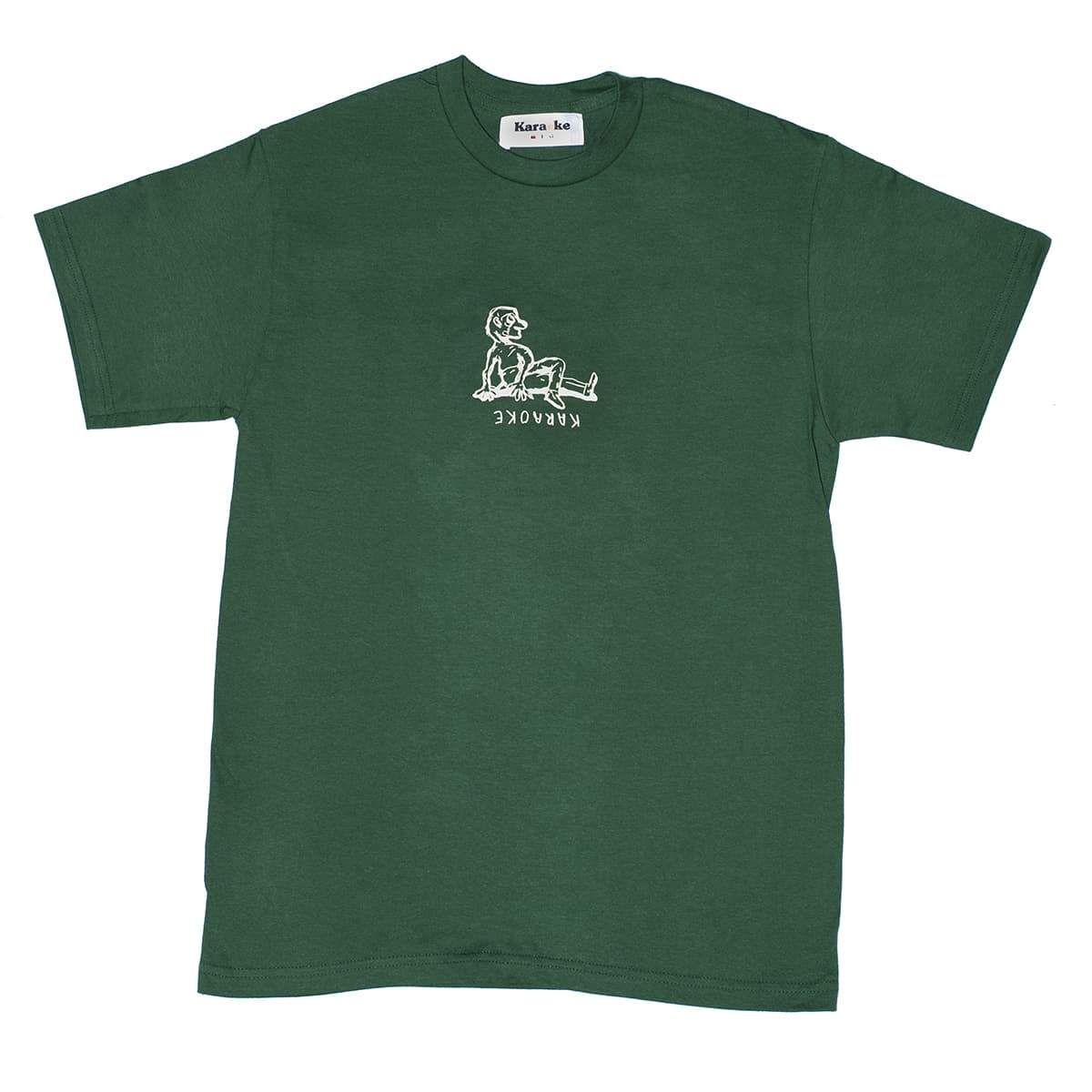 Yoga T-shirt (flexible green)