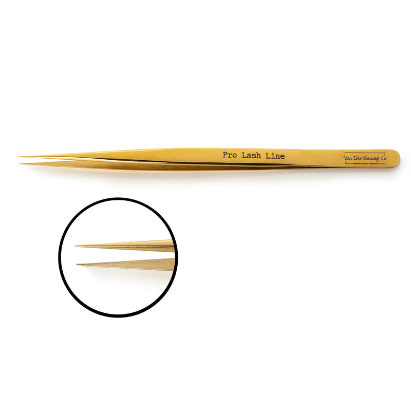 Lanai Slim Straight Lash Tweezer