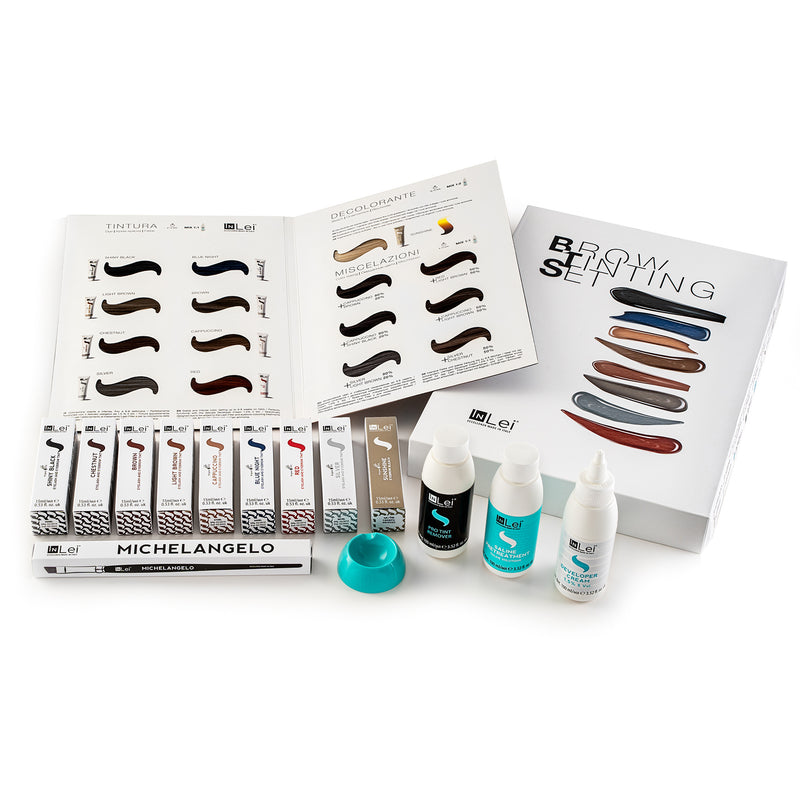InLei® Eyelash and Brow Tinting Set