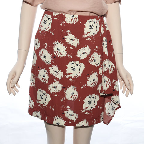Patch Ladies Woven Floral Print Skirt