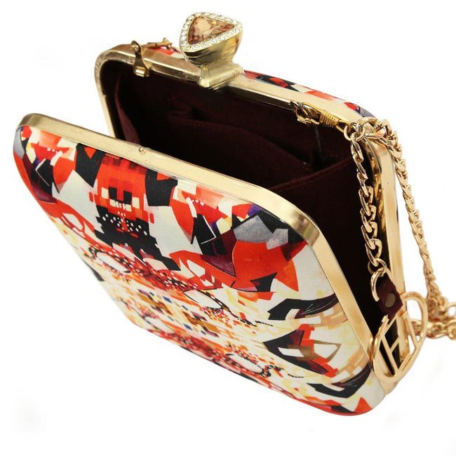 Opal - Art Design Clutch