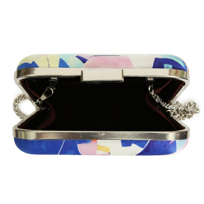 Silver Blue - Art & Design Clutch