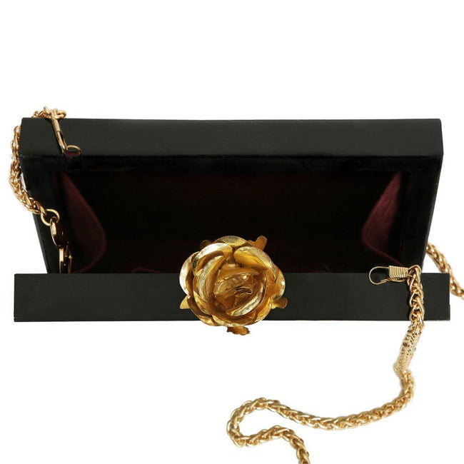 Green Gem-Art & Design Clutch Box