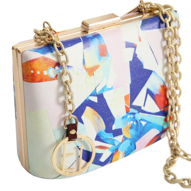 Energy- Art & Design Clutch