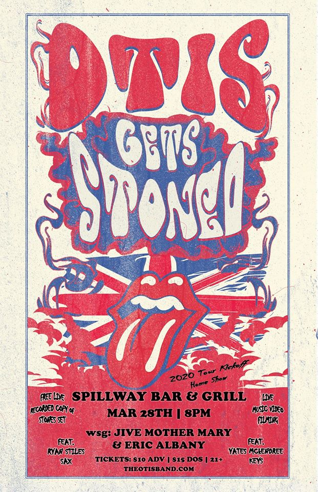 OTIS Gets Stoned Home Show Poster 2020