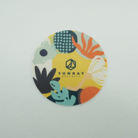 Yellow Tropical Sticker
