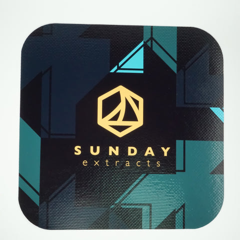 Dab Mat-Black and Blue