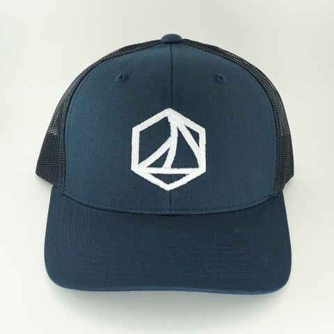 Trucker Navy Sunday Logo
