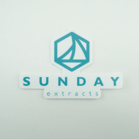 Blue Sunday Sticker