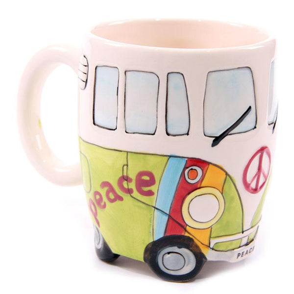 Camper Van Ceramic Coffee Mug - Art Galore®