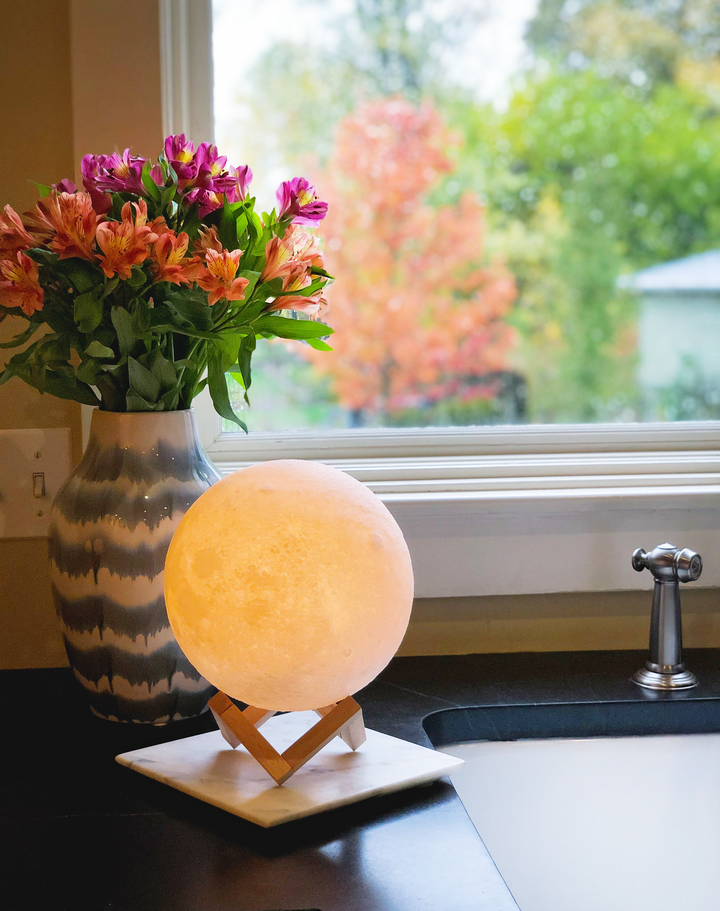 3D Print Moon Lamp (Multicolor in One) | Made In India 🇮🇳 - Art Galore®