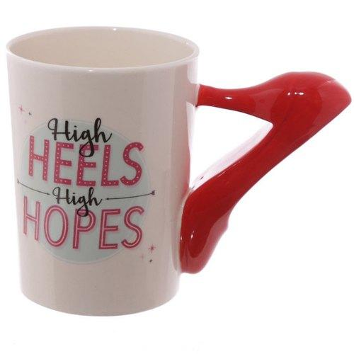 High Heel High Hope Mug - Art Galore®