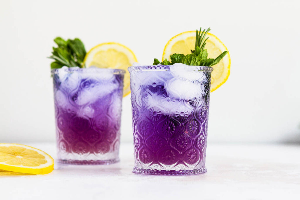 Infuse Color With Color-Changing Butterfly Pea Flower Tea